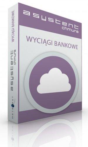 Asystent Chmura Wyciągi Bankowe MAX - 1 rok